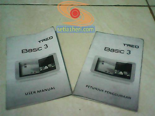 user manual Treq Basic 3