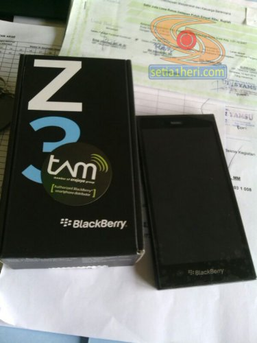 blackberry z3 aka Jakarta