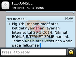 bonus internet telkomsel