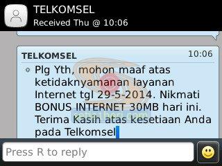 bonus internet telkomsel