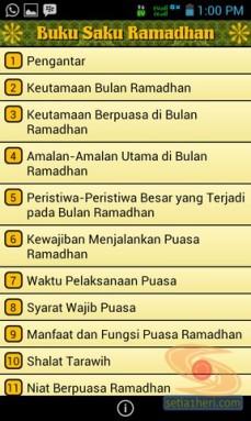 Buku Saku Ramadhan di gadget android (3)