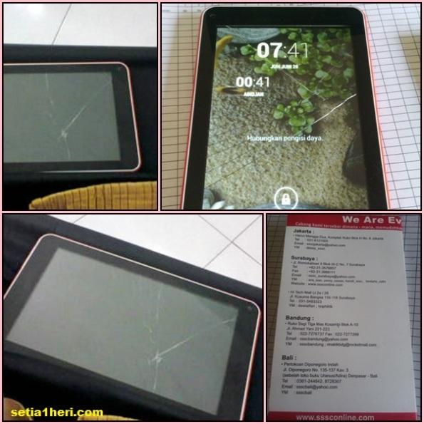 tablet treq basic 3 layar retak