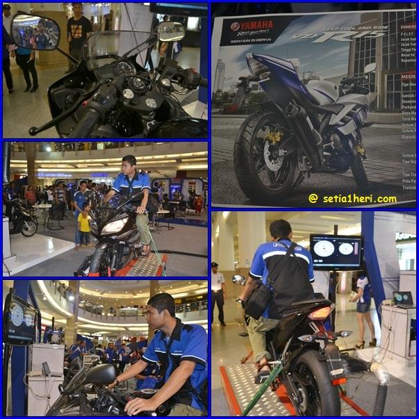 dynotest YZF-R15 di Surabaya