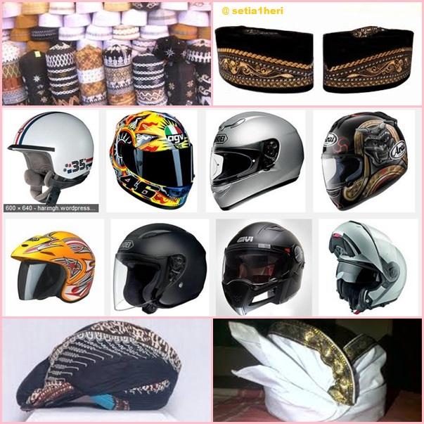 kearifan lokal penegakan helm di Indonesia