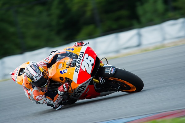 Marquez and Pedrosa have first outing on 2015 machine in Brno