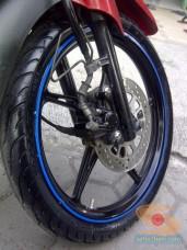 review ban Michelin Pilot Street Bias pada motor bebek yamaha vega (5)