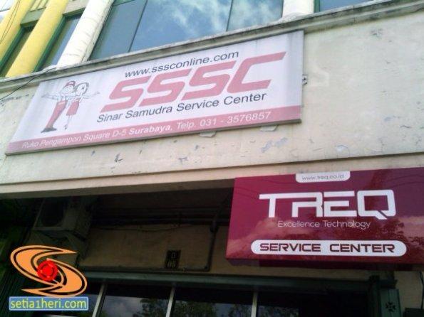 service centre Treq di Pengampon Square Surabaya