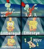 parodi Amberegul Emeseyu spongebob
