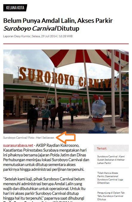 surabaya carnival ss.net
