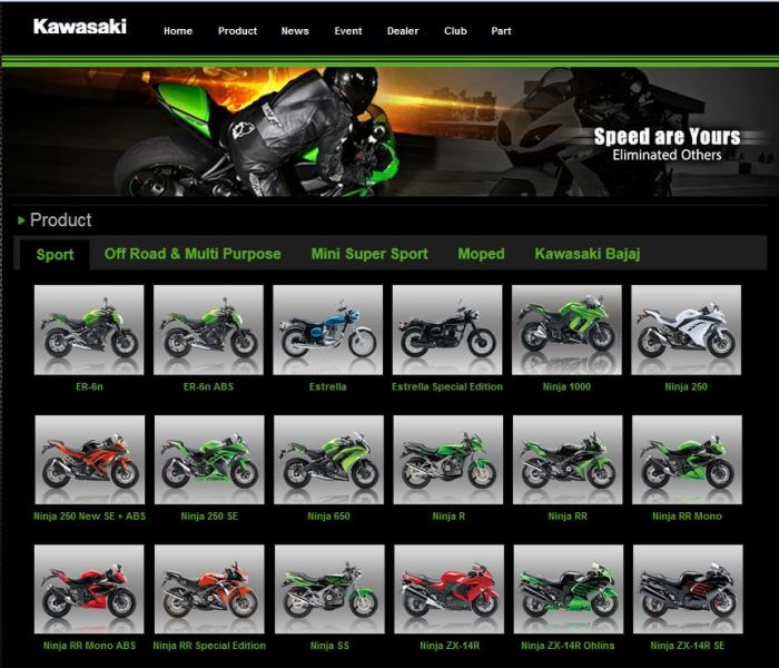 update web kawasaki indonesia 2014
