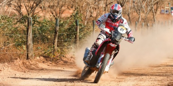 2015 Team HRC Dakar Rally presentation in Aragon
