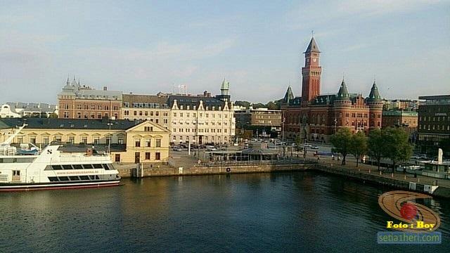 ferri dan kanal di swedia