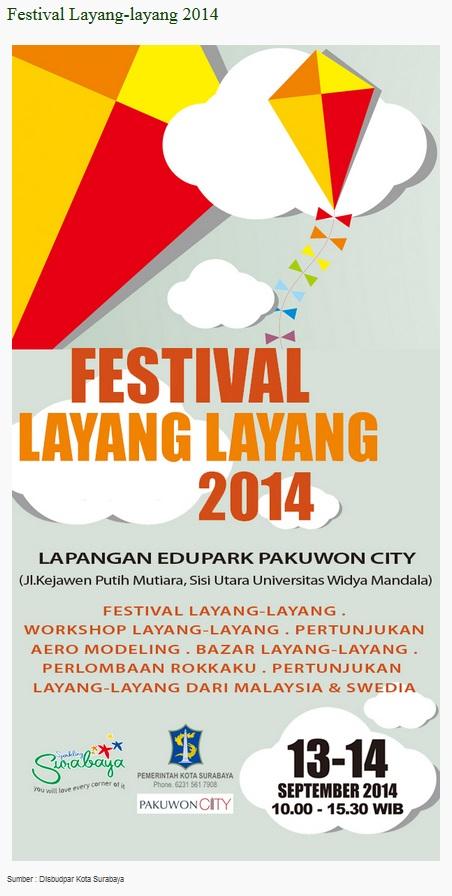 festival layang-layang surabaya 2014