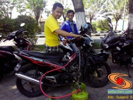 honda supra memakai bahan bakar elpiji