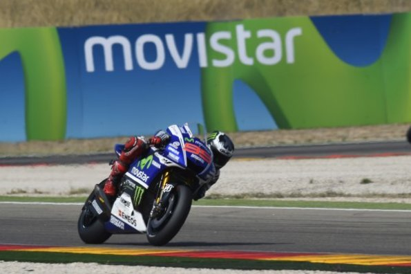 jorge lorenzo win moto gp aragon 2014