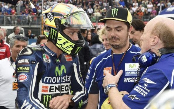 Rossi after Aragon falls 2014
