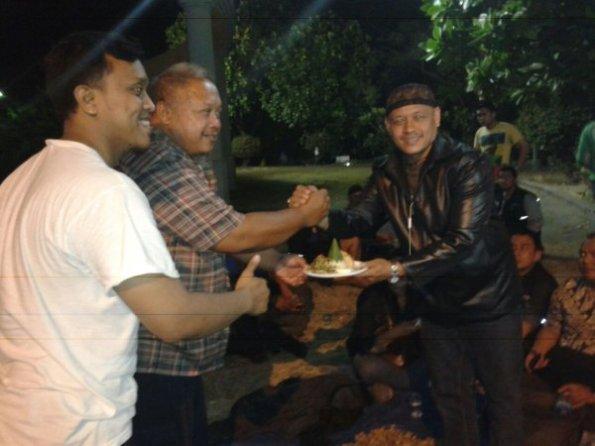 tumpengan GPC road to Borneo 2014 di GKB
