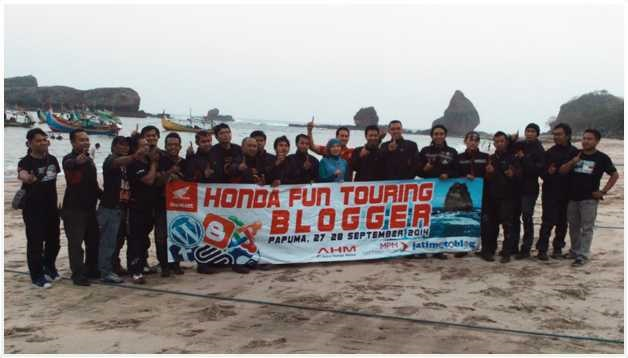 3 Posting Terbaik dalam Honda Fun Touring Blogger - hondabikers.net