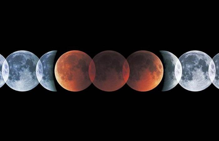 Fenomena Gerhana Bulan Merah dan Selenelion (Nbcnews)