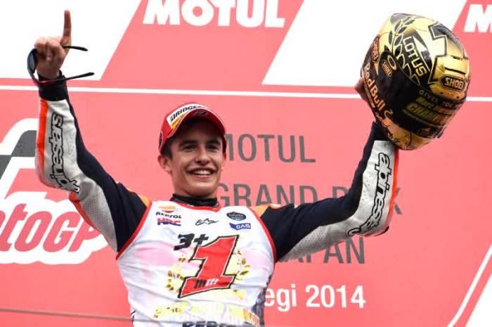 marc marquez juara dunia 2014