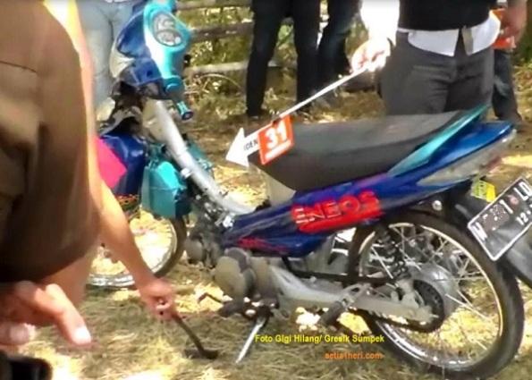 motor suzuki smash barang bukti pembunuhan 2 siswi mts al fatah ujung pangkah gresik