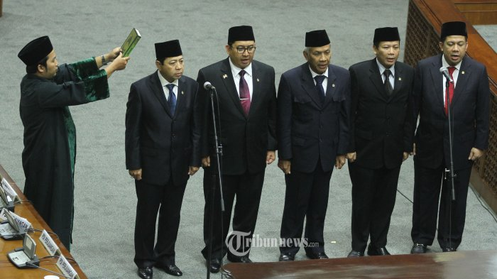 Pimpinan DPR RI periode 2014-2019