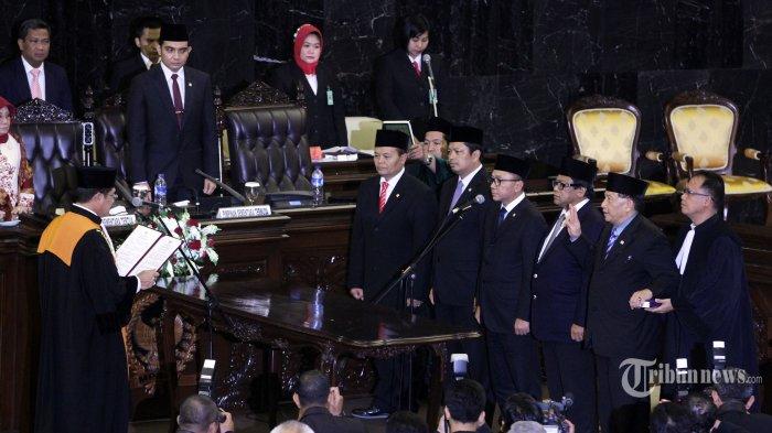 Pimpinan MPR RI periode 2014-2019