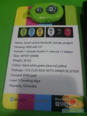 Bluetooth remote shutter tidak compatible blackberry z3 (4)