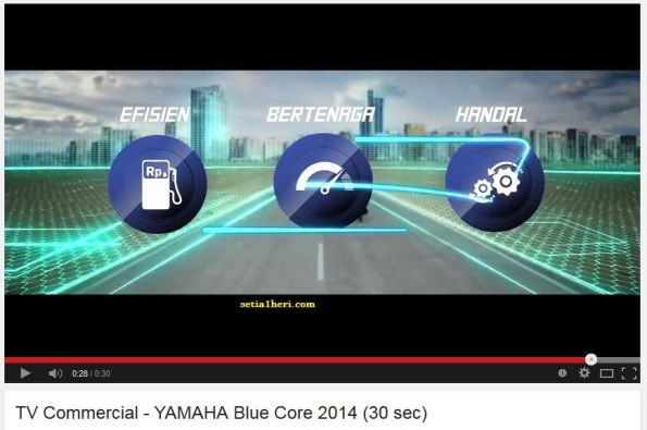 Yamaha Blue Core TVC