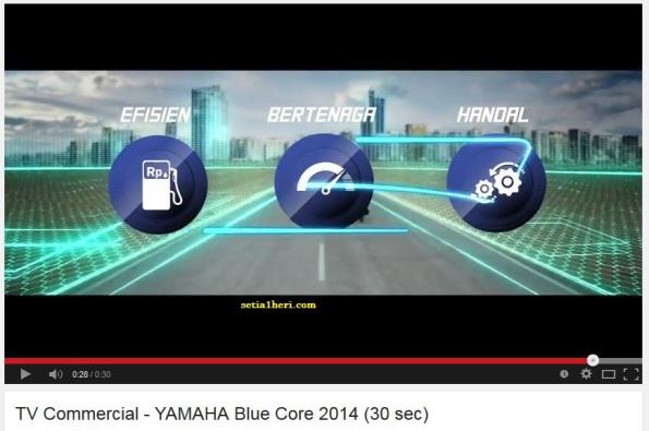 Yamaha Blue Core TVC