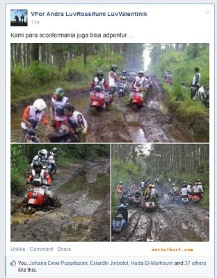 adventure para scootermania 2014