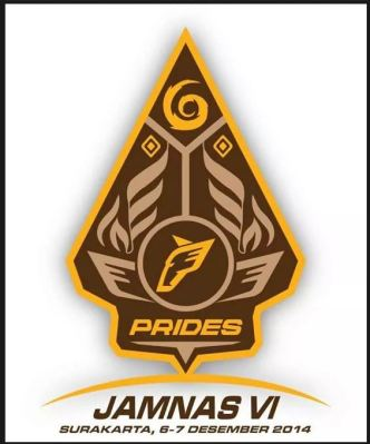 logo jamnas PRIDES ke-6 tahun 2014