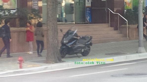 Motor T-Max di Korea