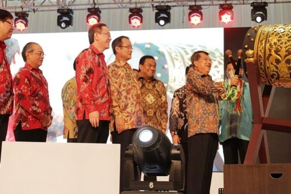 peresmian pabrik AHM plant 4 Karawang tahun 2014 oleh wapres Jusuf Kalla (2)