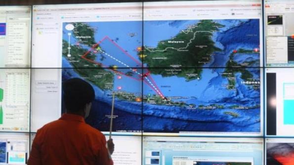 Kepala Badan SAR Nasional (Basarnas), FHB.Soelistiyo, saat memaparkan operasi SAR di kantor Basarnas, Kemayoran, Jakarta Pusat, Minggu (28/12/2014).  ---tribunnews.com----