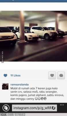 status instagram anak wabup ponorogo yang menghebohkan