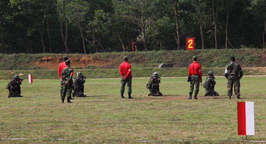 suasana lomba tembak AARM di vietnam 2014 2