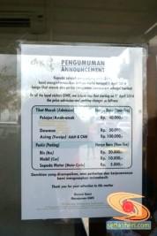 tarif tiket masuk Garuda Wisnu Kencana Bali
