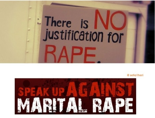 against marital rape