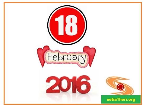 launching setia1heri dot org tahun 2016